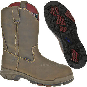 823df4066859 Details about Wolverine Wellington Boots Men Cabor Waterproof Safety-Toe   Soft-Toe 10