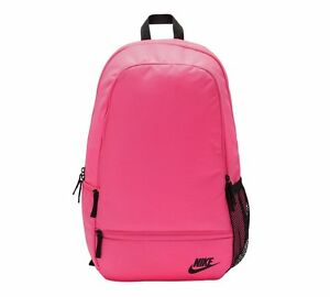 WOMENS NIKE PINK BACKPACK SCHOOL COLLEGE WORK GIRLS RUCKSACK GYM PE ... 1d6ec85cf6