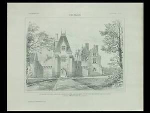 Audacieux L'architecture N°47 1904 - Selles Sur Cher, Chateau Des Pins, Dumont Lafargue