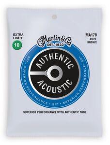 Martin-chitarra-corde-per-chitarra-acustica-Bronzo-80-20-EXTRA-LIGHT-010-047-ma170