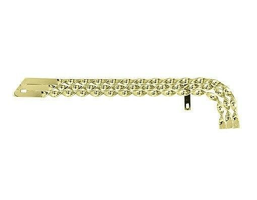 NEW Original Triple Flat Twisted gold Chain Guard for 20  Lowrider Bicycle Bike