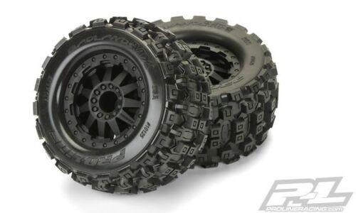 Pro-Line Badlands MX28 AllTerrainTruck Reifen+Felg.verkl 2 F-11 Felg.schw.1:10