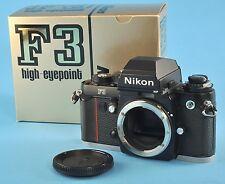 Nikon F3HP 35mm Film Camera Body 35mm SLR Near Mint NR