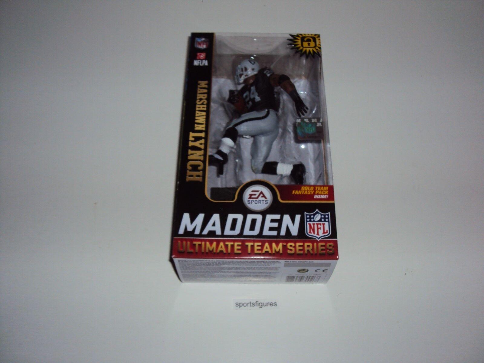 2018 McFarlane ESA Sports Madden NFL 19 Marshawn Lynch  Oakland Raiders
