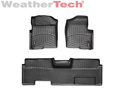 WeatherTech DigitalFit FloorLiner - Ford F-150 - Ext. Cab - 2009-2010 - Black