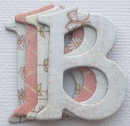 "{165 Pc.} Prima ~*JACK /& JILL*~ Baby Chipboard Alphabet Letters /& Die Cuts 1.5/"""