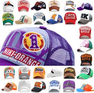 Cap niki-orange® 27 Trucker Mesh Baseball Vintage Caps