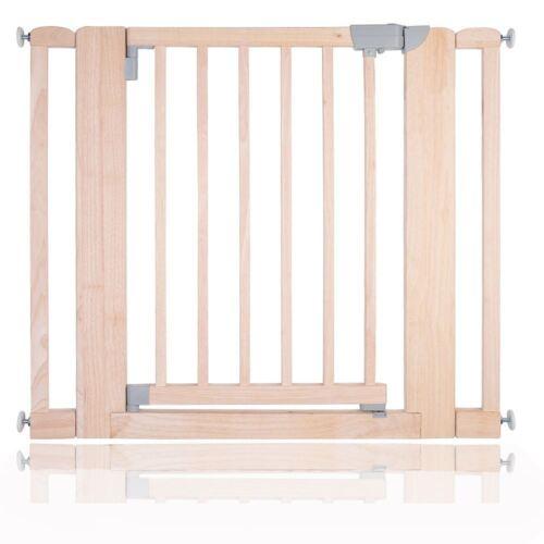 97cm Safetots Solide Holz Druck Montieren Treppenschutzgitter Natur Weiß 74cm