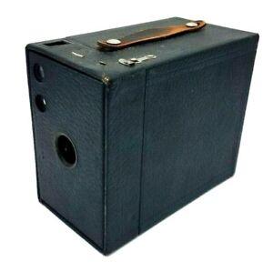 VINTAGE KODAK BROWNIE 2A BOX CAMERA - EARLY MODEL 1902 PATENT DATE