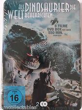 DVD STEELBOOK - ALS DINOSAURIER DIE WELT BEHERRSCHTEN - 8 FILME  - NEU/OVP