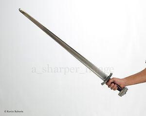 Details about CAS Kingston Arms Practical Viking Godfred Sword Battle Blunt  Steel Combat SCA