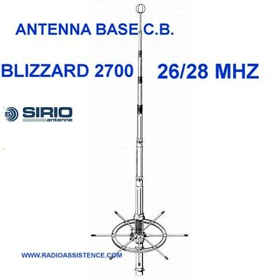 Sirio Antenne GPS 1//2 Antenna Cb Fissa Alluminio
