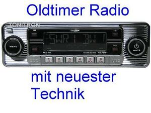 retro look radio altes autoradio chrom oldtimer volvo amazon saab ebay. Black Bedroom Furniture Sets. Home Design Ideas