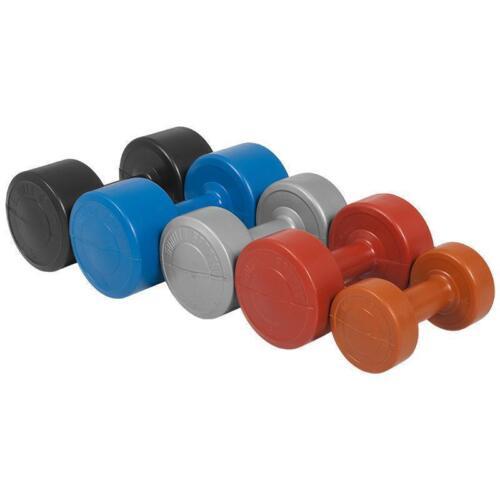 1-5 kg SET Aérobic Gymnastique Haltères en plastique haltères Haltères Poids