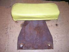 Vintage John Deere 2010 Ru Gas Tractor Seat Back Rest Amp Brkt