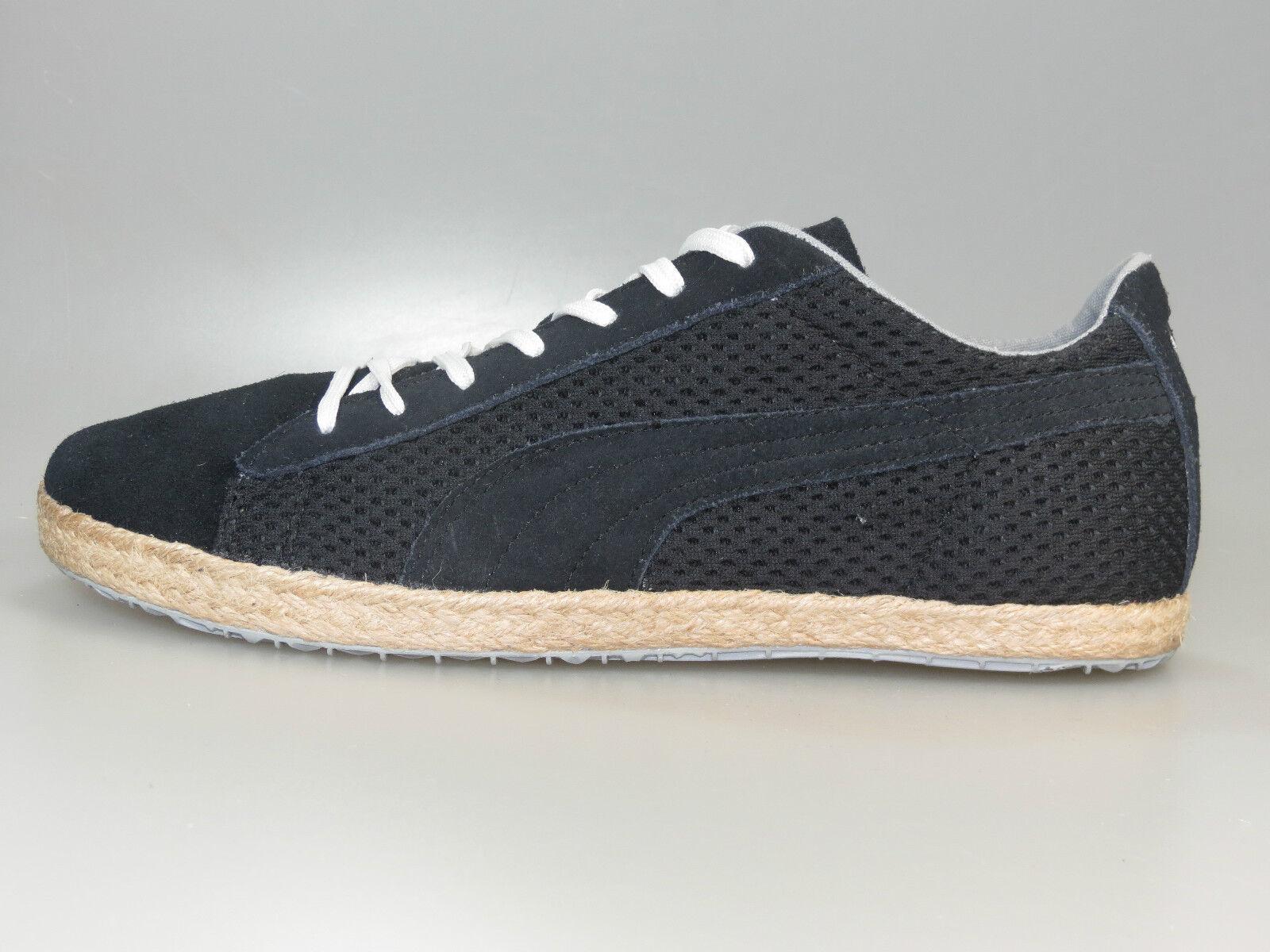 Puma Glyde Espadrille Basket Noir 354672 01 + NOUVEAU + . Toutes les tailles Seasonal clearance sale