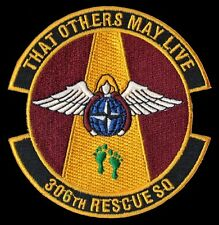 306TH RESCUE SQ. -THAT OTHERS MAY LIVE - PJ'S CSAR - COMBAT RESCUE - USAF PATCH