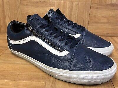 vans old skool navy blue e bay