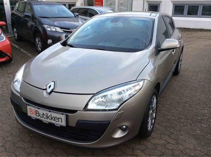 Renault Megane III 1,5 dCi 90 Expression 5d - 83.780 kr.