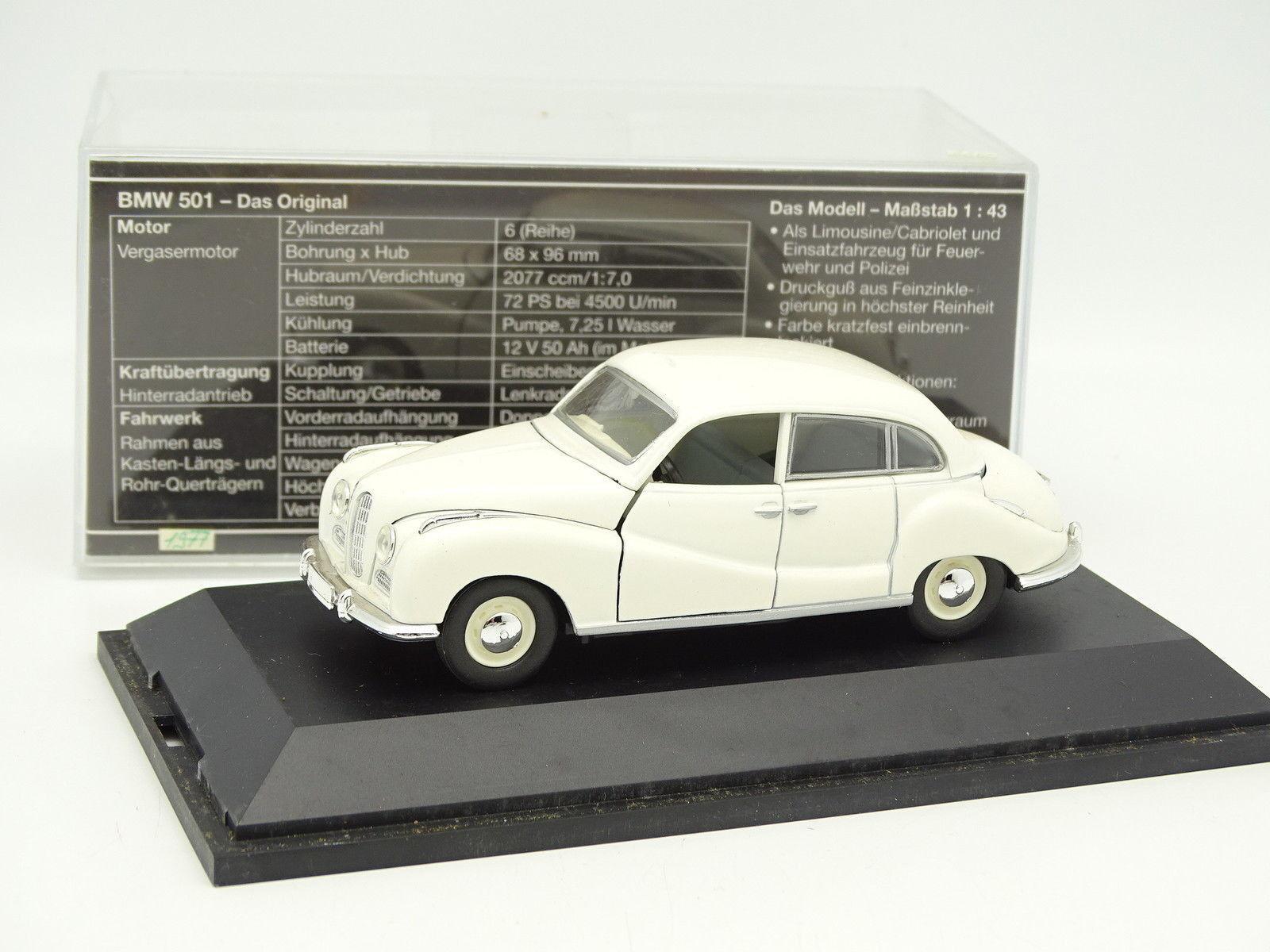 Schuco 1 43 - BMW 501 Bianco