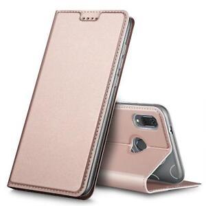 Handy-Huelle-Huawei-P20-Lite-Book-Case-Schutzhuelle-Tasche-Slim-Flip-Cover