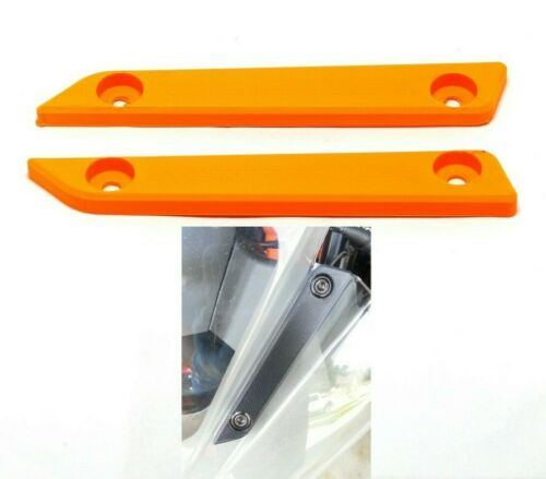 Motorcycle Mirror Base Block off Plates Cover Caps BLANKING for KTM RC 390 RC390