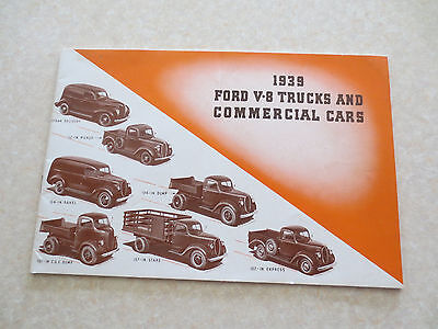 Owner & Operator Manuals 1939 Ford V-8 V8 Car Owners Manual User ...
