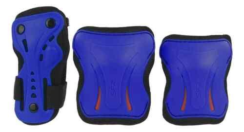 Black Blue Red SFR Essentials Triple Pad Set