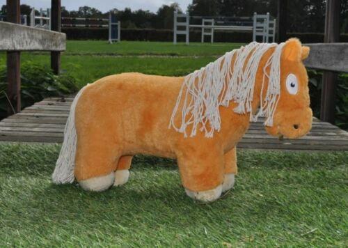 48 cm Mit Anleitung Pluschpferd Groß Kuscheltier Chestnut Plüschtier Pferd