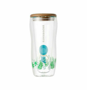 Starbucks-Korea-2019-Summer-Vacation-Doublewall-Glass-Coldcup-Tumbler-296ml