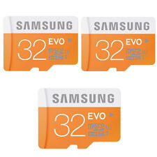 Samsung EVO 32 GB 32GB Micro SD SDHC TF Class 10 Memory Card 48MB/S MMC For All