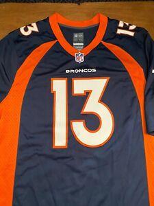 Details about Denver Broncos TREVOR SIEMIAN NFL Adult Large Authentic Jersey - Never Worn