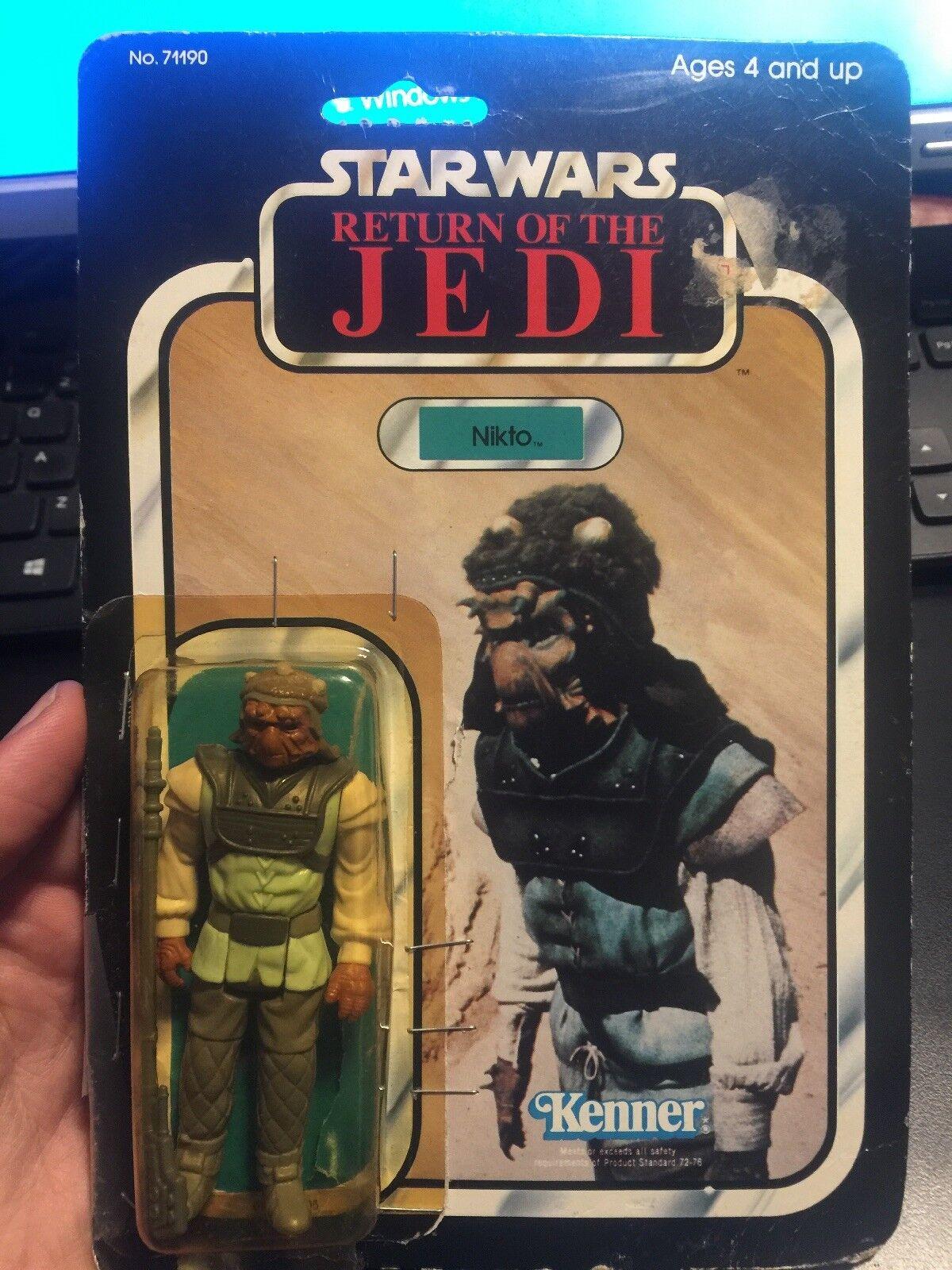 Star wars return of the jedi NIKTO 1983 Kenner