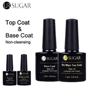 UR-azucar-7-5ml-Capa-base-no-limpie-Capa-Superior-Color-Gel-Nail-Polish-Soak-Off-Barniz