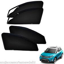 Zipper Magnetic Sun Shades Car Curtain For Maruti Suzuki Vitara Brezza (4pcs)