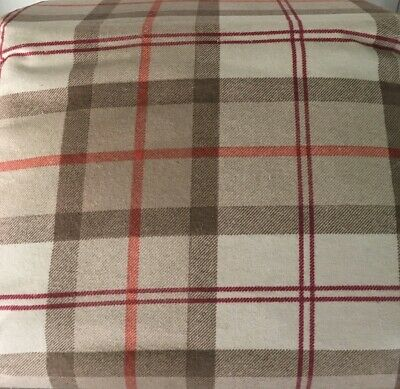 Flannel Sheet Set King Size 4 Piece 100 Cotton Heavy Deep Pocket Brown Plaid Ebay