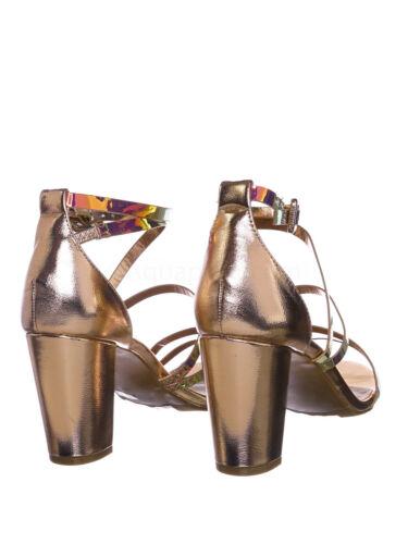 Striking32 Chunky Block High Heel Strappy Sandal Women Gladiator Open Toe