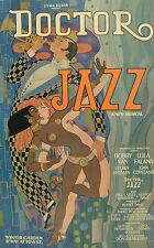 SCARCE Doctor Jazz 1975 Original Broadway Poster or Lobby Card Lola Falana TONY
