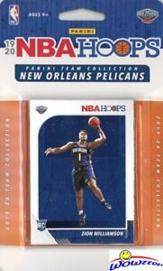 New-Orleans-Pelicans-2019-20-Panini-Hoops-EXCLUSIVE-Team-Set-ZION-WILLIAMSON-RC