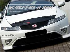 Honda Civic fn FK FX bra máscara negra con logo nuevo!!! ejecución!!!