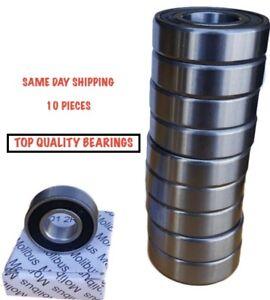 10 Bearing 60002RS 10 x 26 x 8 mm Sealed Ball Bearings