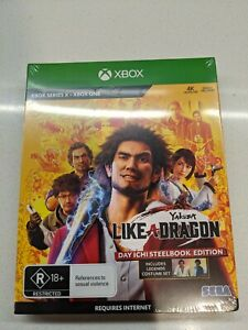 Yakuza 7: Like A Dragon Day One Edition Xbox One Brand New Sealed