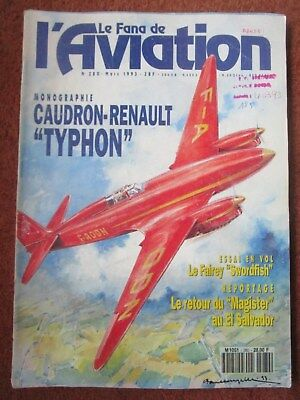 FANA 280 MAGISTER SALVADOR CAUDRON RENAULT TYPHON FAIREY SWORDFISH LAVOTCKINE