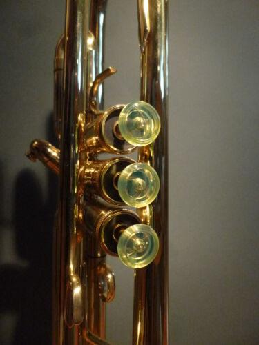 1 Ventil Knopf Trompete verschied.Farben sämtl Marken  Finger Button Trumpet