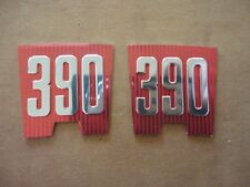 New 1965 Ford Galaxie 390 Fender Emblem Inserts Pair American Made Quality Xl Fits More Than One Vehicle
