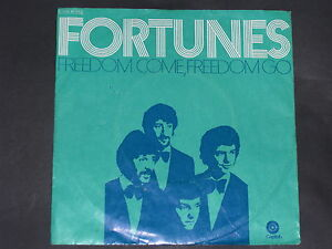 7-Single-Pop-Rock-THE-FORTUNES-Freedom-come-Freedom-go