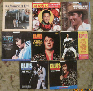 LOT-of-8-ELVIS-PRESLEY-45rpm-Picture-Sleeves-only-All-On-RCA