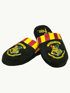 22829479106 Details about Harry Potter Slippers Mule Adult Size Hogwarts Gryffindor  Slytherin New Official
