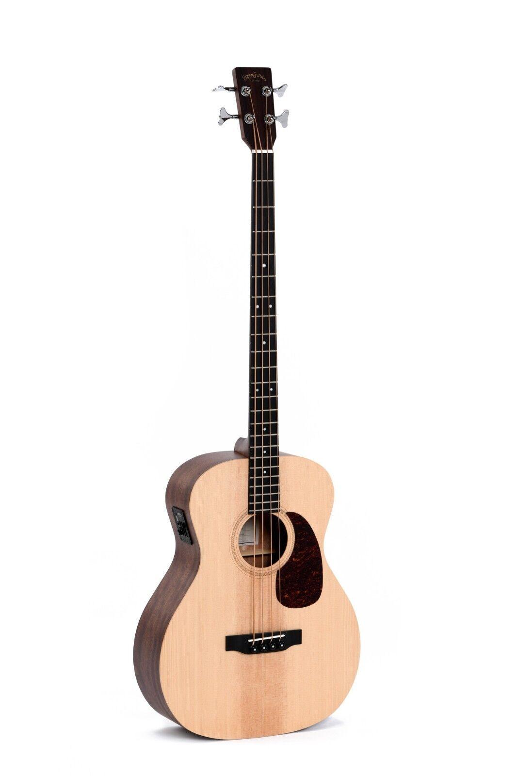 Sigma 4-Cuerdas Bajo Bajo Bajo Guitarra Electro-Acústica-BME-con Sigma Pre-Amp -  nuevo  eab7f2