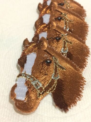 Embroidered  Horses  Patches Iron On !
